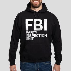 FBI Party Inspection (See Back) Hoodie (dark)