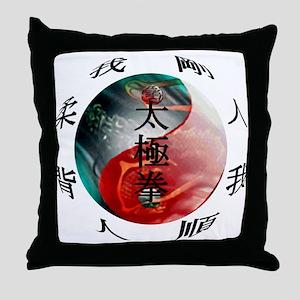 TaiChi Throw Pillow