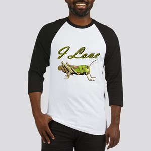 I love grasshoppers Baseball Jersey