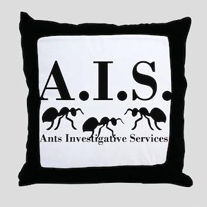 A.I.S. Throw Pillow