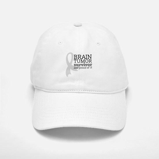 Proud Brain Tumor Survivor Baseball Hat