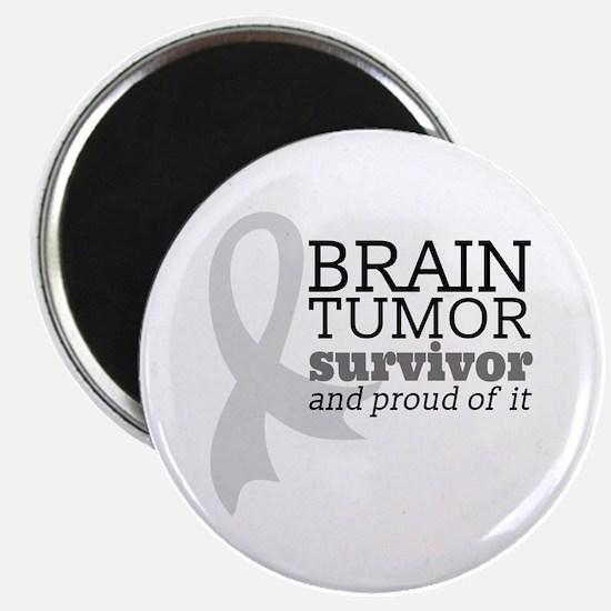 Proud Brain Tumor Survivor Magnets