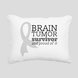 Proud Brain Tumor Survivor Rectangular Canvas Pill