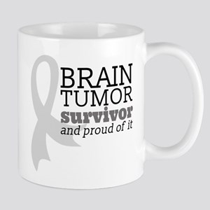 Proud Brain Tumor Survivor Mugs