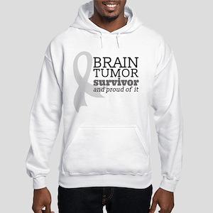 Proud Brain Tumor Survivor Sweatshirt