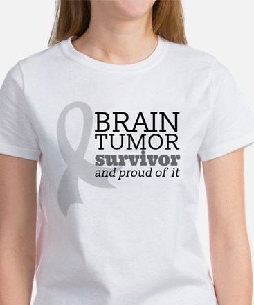 Proud Brain Tumor Survivor T-Shirt