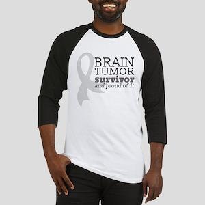 Proud Brain Tumor Survivor Baseball Jersey