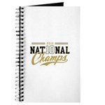 2010 National Champs Journal