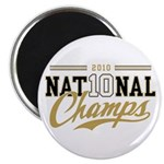 2010 National Champs Magnet