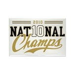 2010 National Champs Rectangle Magnet