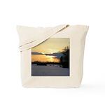 Winter Sunset 0023 Tote Bag