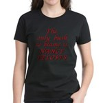 Blame bush Women's Dark T-Shirt