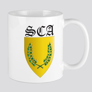 SCA Office Badges MOY Mug