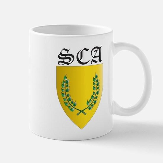 SCA Office Badges MOY Mug