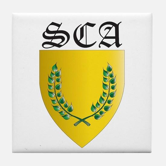 SCA Office Badges MOY Tile Coaster