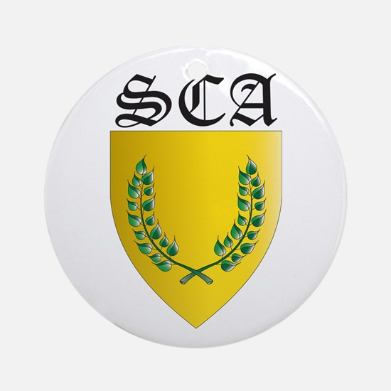 SCA Office Badges MOY Ornament (Round)