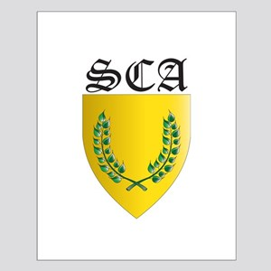 SCA Office Badges MOY Small Poster