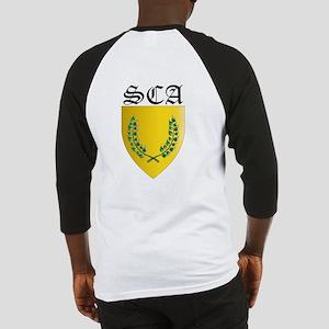 Back Design SCA Office Badges Baseball Jersey