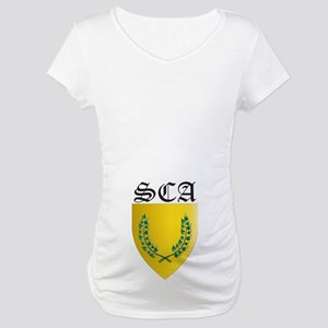 SCA Office Badges MOY Maternity T-Shirt