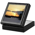 Winter Sunset 0023 Keepsake Box