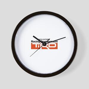 Toyota fiasco Wall Clock