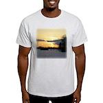 Winter Sunset 0023 Ash Grey T-Shirt