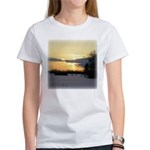Winter Sunset 0023 Women's T-Shirt