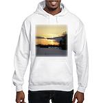 Winter Sunset 0023 Hooded Sweatshirt