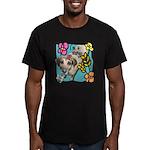 I'm a Virgo Men's Fitted T-Shirt (dark)