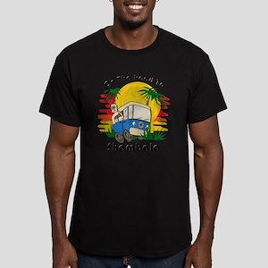 Road To Shambala Men's Fitted T-Shirt (dark)