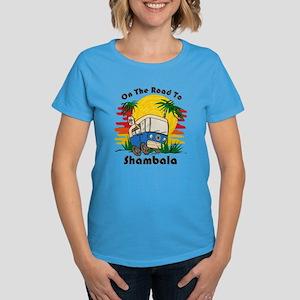 Road To Shambala Women's Dark T-Shirt