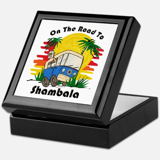 Road To Shambala Keepsake Box
