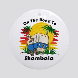 Road To Shambala Ornament (Round)