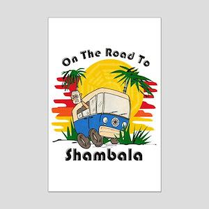 Road To Shambala Mini Poster Print