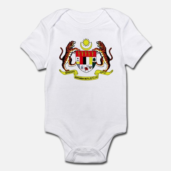 Malaysia Coat of Arms Infant Bodysuit