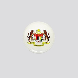 Malaysia Coat of Arms Mini Button