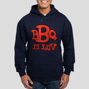 BBQ is Luv Hoodie (dark)