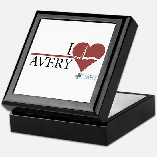 I Heart Avery - Grey's Anatomy Keepsake Box