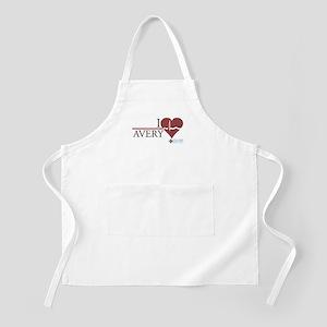 I Heart Avery - Grey's Anatomy Apron