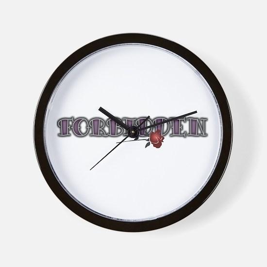Forbidden Wall Clock