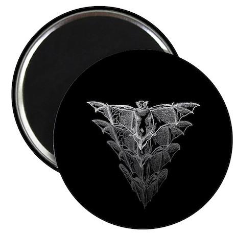 """Bat Black 2.25"""" Magnet (100 pack)"""