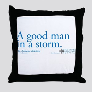 Good Man - Grey's Anatomy Throw Pillow