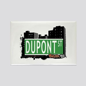 Dupot St, Bronx, NYC Rectangle Magnet