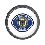 Garden Grove Police Wall Clock