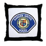 Garden Grove Police Throw Pillow