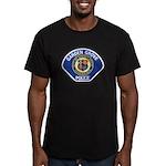 Garden Grove Police Men's Fitted T-Shirt (dark)