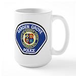 Garden Grove Police Large Mug