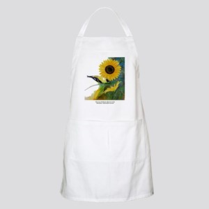 Goldfinch and Sunflower Apron