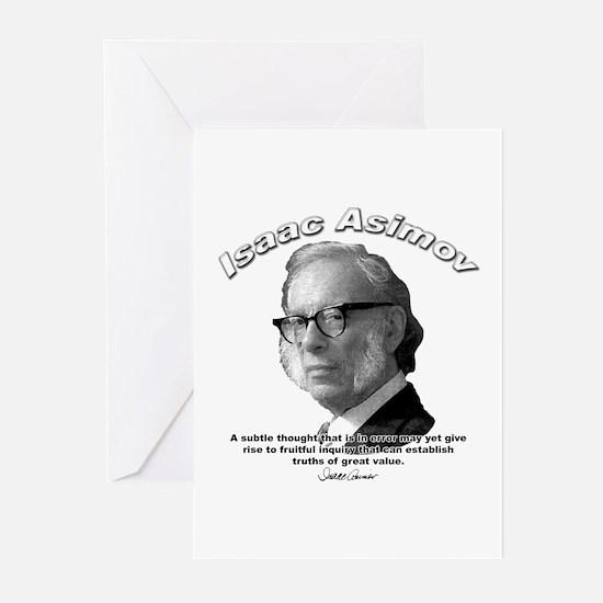 Isaac Asimov 01 Greeting Cards (Pk of 10)