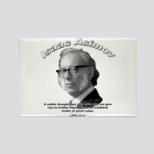 Isaac Asimov 01 Rectangle Magnet